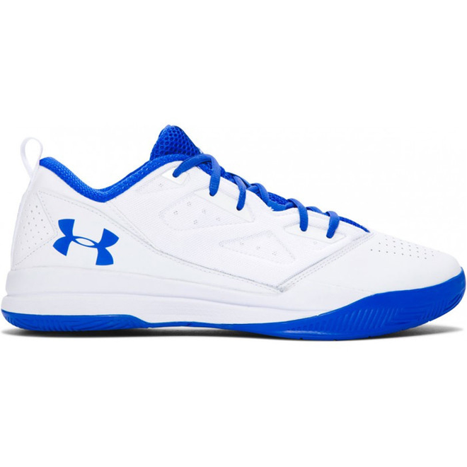 Under Armour Jet Low Wit Blauw