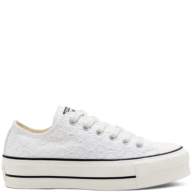 Boho Mix Platform Chuck Taylor All Star Low Top voor dames