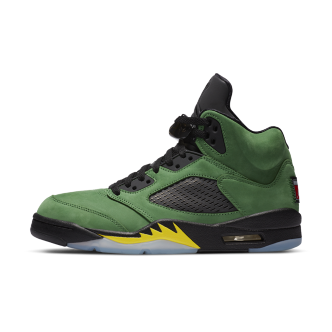 Air Jordan 5 Retro 'Oregon' zijaanzicht