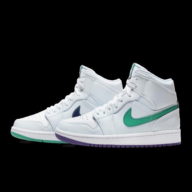 Air Jordan 1 Mid SE 'Nike Hoops' zijaanzicht