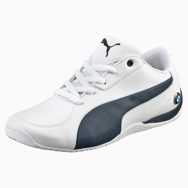 Puma Bmw Motorsport Drift Cat 5 Leather Sportschoenen Voor Jongeren