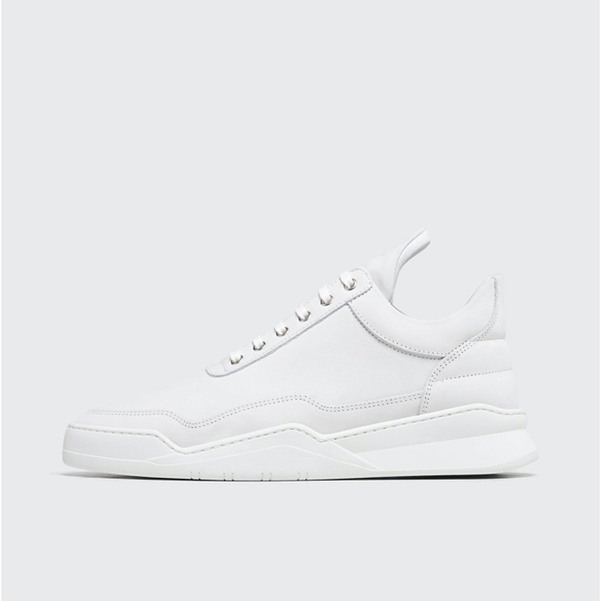Filling Pieces Filling Pieces Low Top Ghost White