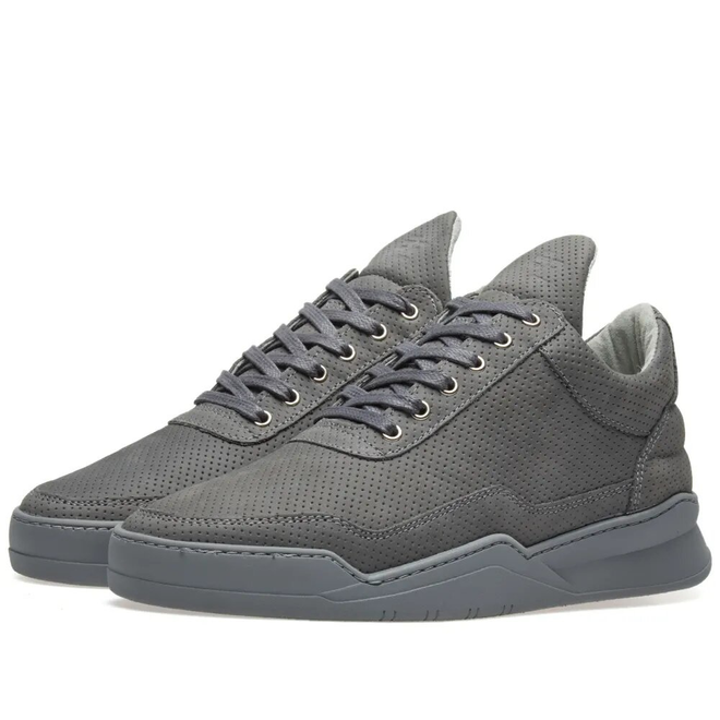 Filling Pieces Filling Pieces Low Top Ghost Microlane Dark Grey