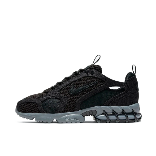 Stussy X Nike Zoom Spiridon Cage 2 'Black' CQ5486-001