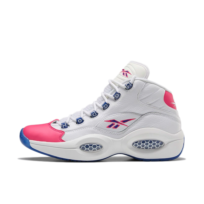 Reebok Question Mid 'White/Pink'