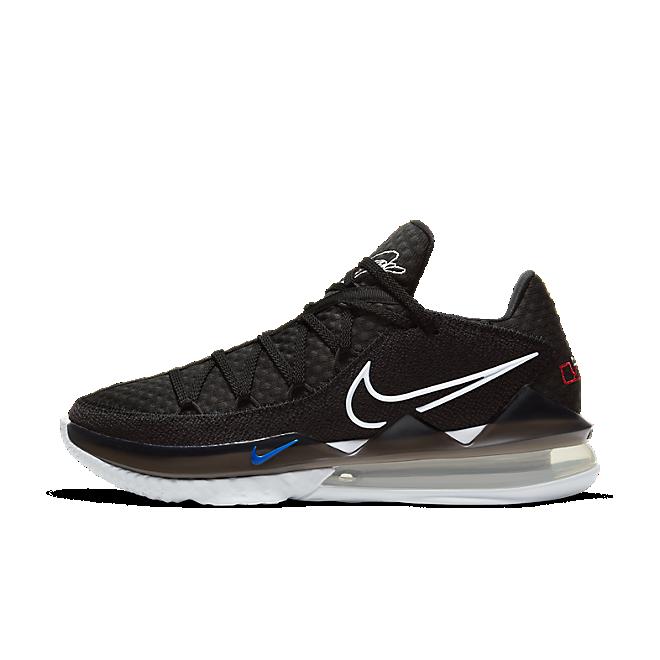 Nike LeBron 17 Low Black White