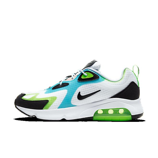 Nike Air Max 200 White Electric Green Oracle Aqua