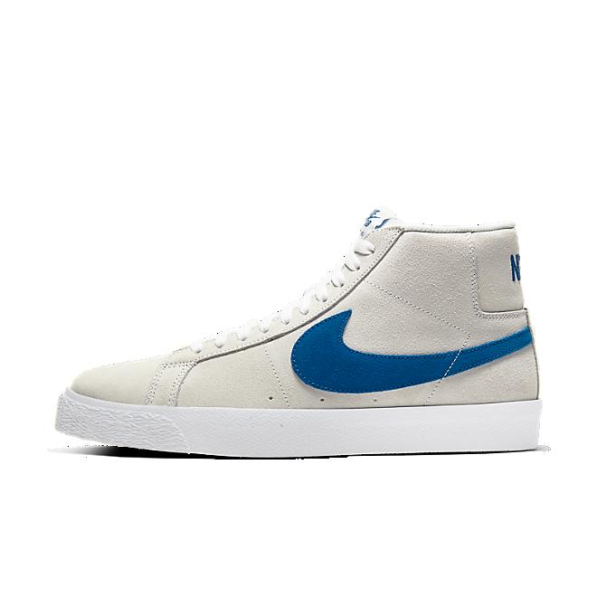 Nike SB Zoom Blazer Mid White Cerulean | 864349 104
