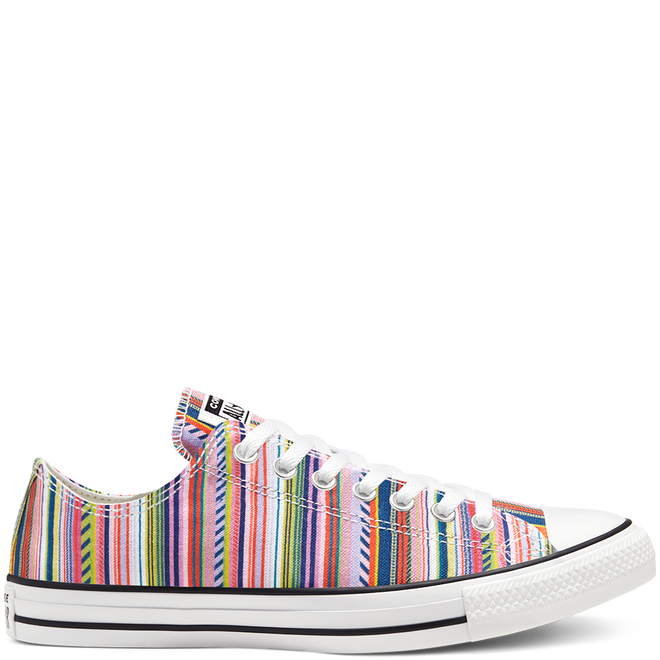 Summer Stripes Chuck Taylor All Star Low Top