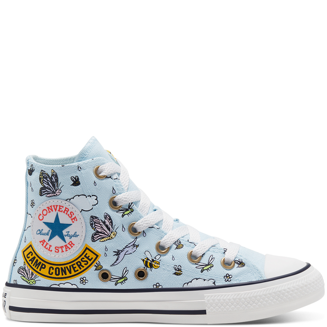 Camp Converse Chuck Taylor All Star High Top voor kids