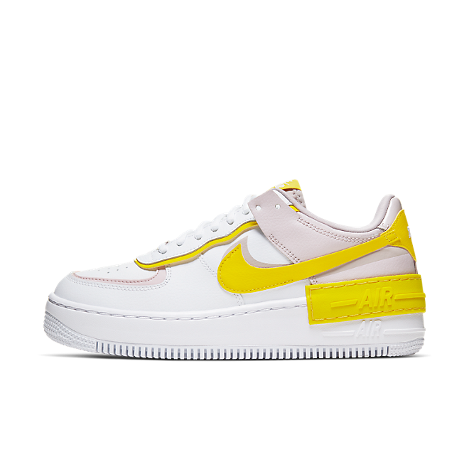 Nike Wmns Air Force 1 Shadow 'Speed Yellow' zijaanzicht