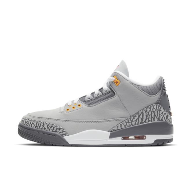 Air Jordan 3 Retro 'Cool Grey' zijaanzicht