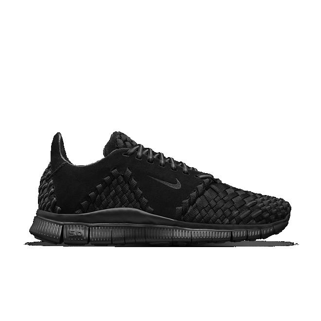 Nike Free Inneva Woven 2 Triple Black Suede