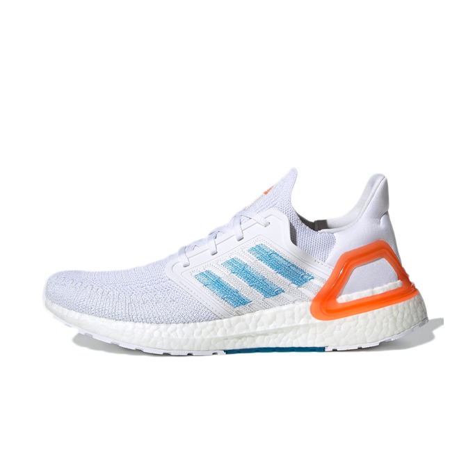 adidas Ultra Boost 20 'Sharp Blue' zijaanzicht