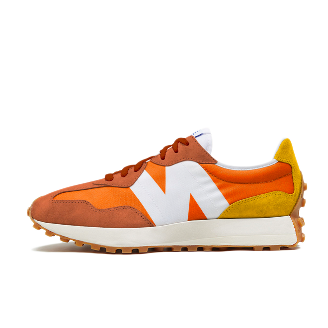 New Balance 327 'Orange' zijaanzicht