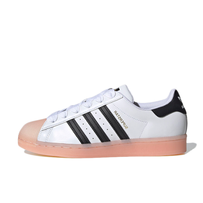 adidas Superstar Jelly 'Haze Coral' zijaanzicht