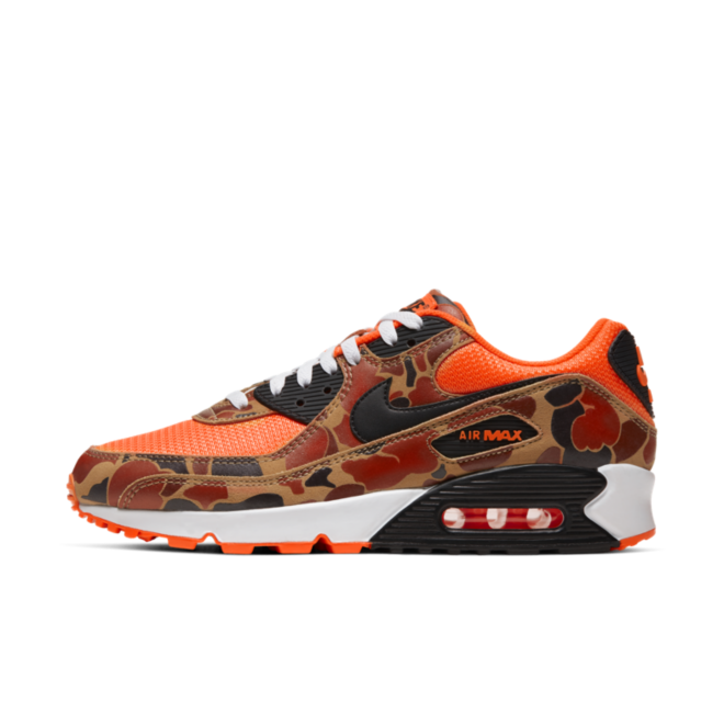 Nike Air Max 90 SP Duck Camo 'Total Orange' zijaanzicht