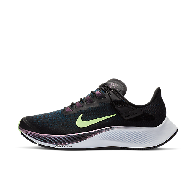 Nike Air Zoom Pegasus 37 Flyease Black Valerian Blue (W)