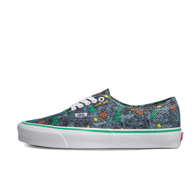Fergus Purcell X Vans Authentic Fergadelic 'Acid Wash'