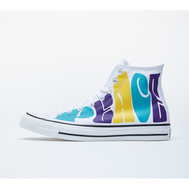 Converse Chuck Taylor All Star White/ Purple