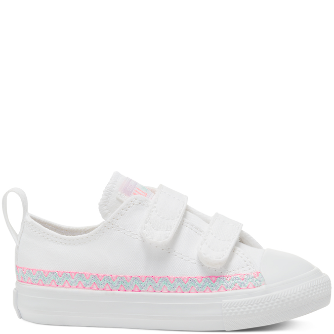 Friendship Bracelet Easy-On Chuck Taylor All Star Low Top voor peuters