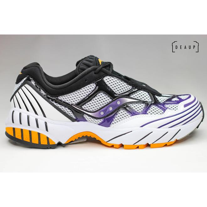 Saucony Grid Web 'White / Purple / Yellow'
