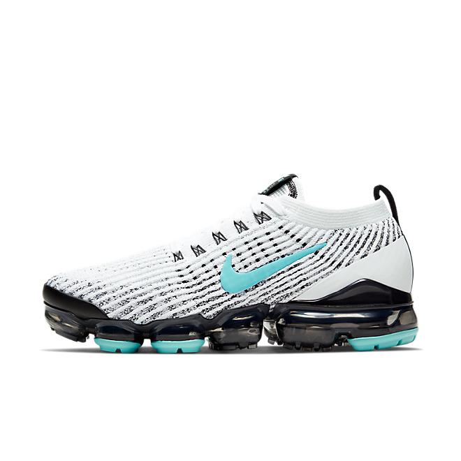 Nike W Air Vapormax Flyknit 3 White/ Aurora Green-Black-Metallic Silver