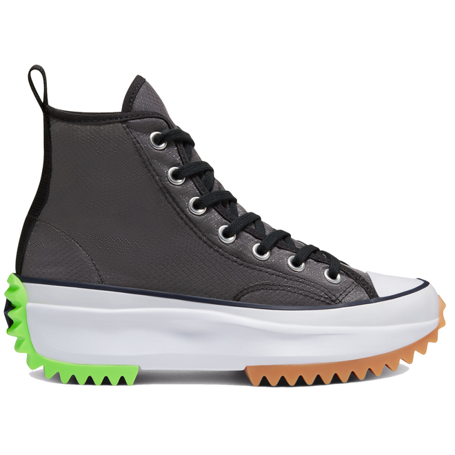 Converse Run Star Hike High Concrete Heat Black