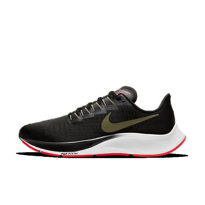 Nike Air Zoom Pegasus 37 Black Olive Aura