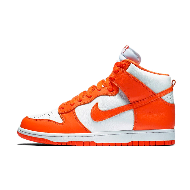 Nike Dunk High 'Syracuse' zijaanzicht