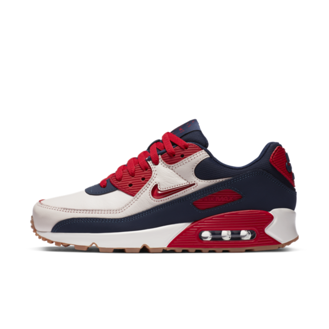 Nike Air Max 90 'Home & Away' Red zijaanzicht