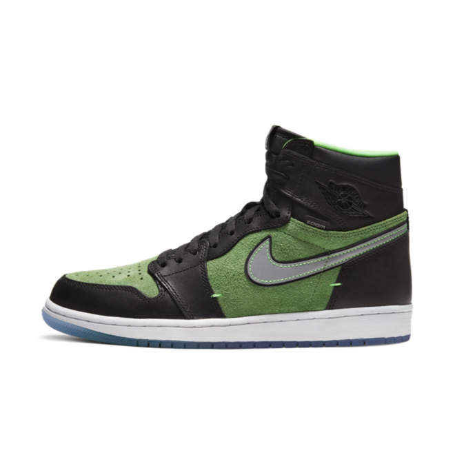 Air Jordan 1 High Zoom 'Rage Green' zijaanzicht
