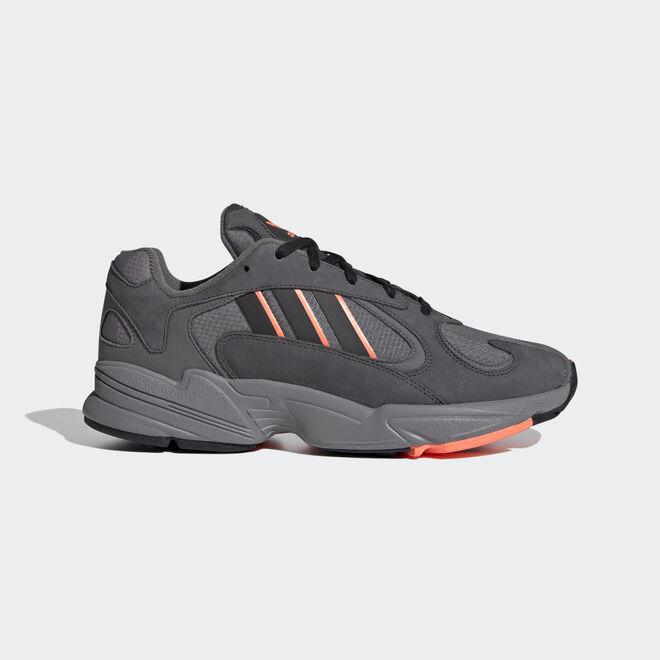 adidas Yung-1 Grey Six/ Core Black/ Signature Coral