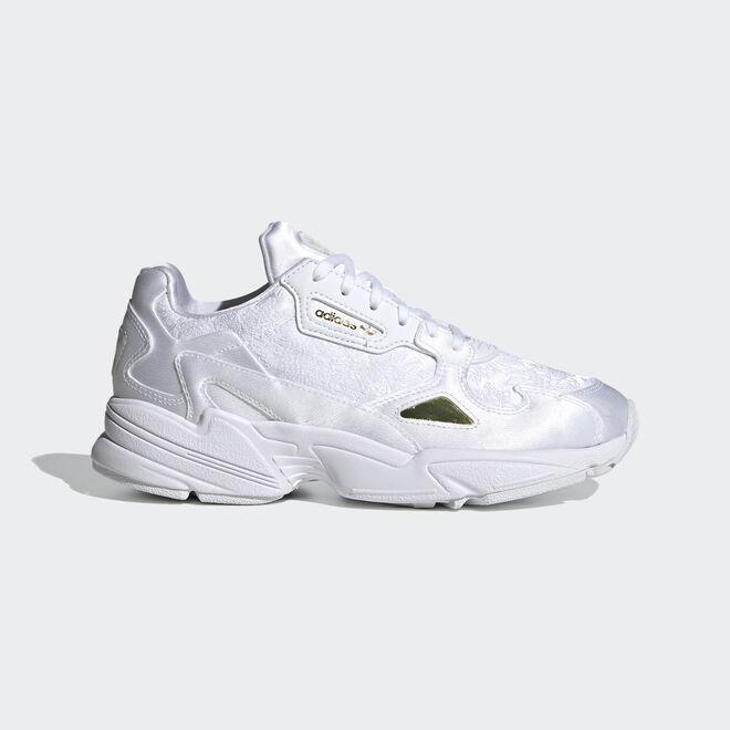 adidas Falcon W Ftw White/ Ftw White/ Gold Metalic