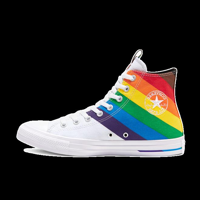 Converse Chuck Taylor Pride 'White' zijaanzicht