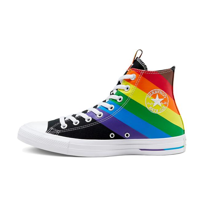 Converse Chuck Taylor Pride 'Black' zijaanzicht