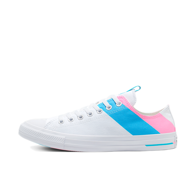Converse Chuck Taylor Low Pride 'White' zijaanzicht