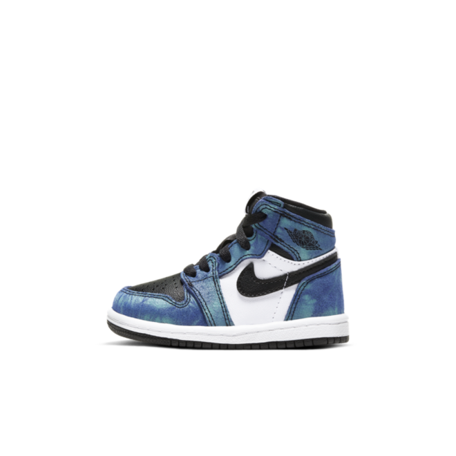 Air Jordan 1 High TD 'Tie-Dye' zijaanzicht
