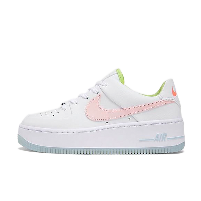 Nike Air Force 1 Sage Low 'One Of One' zijaanzicht