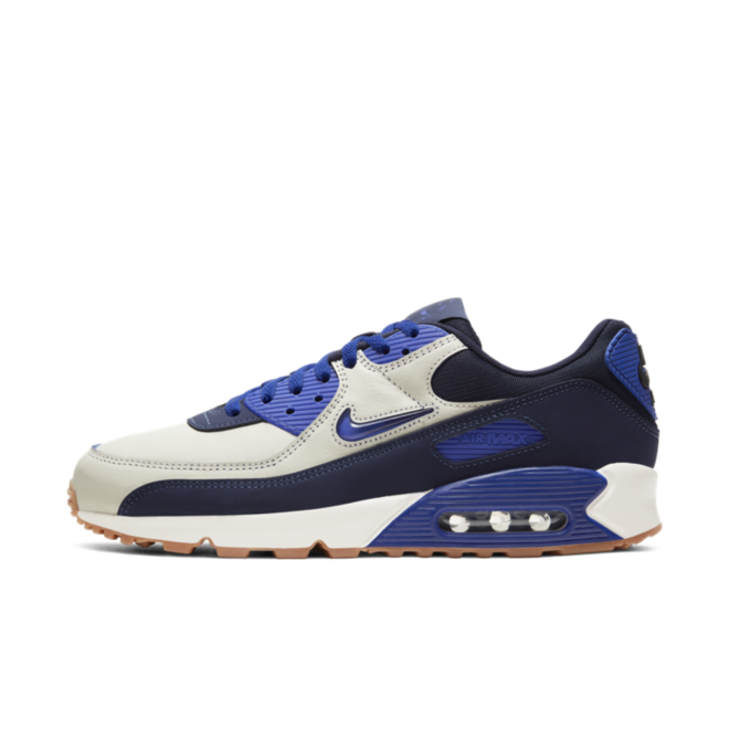 Nike Air Max 90 'Home & Away' - Navy zijaanzicht