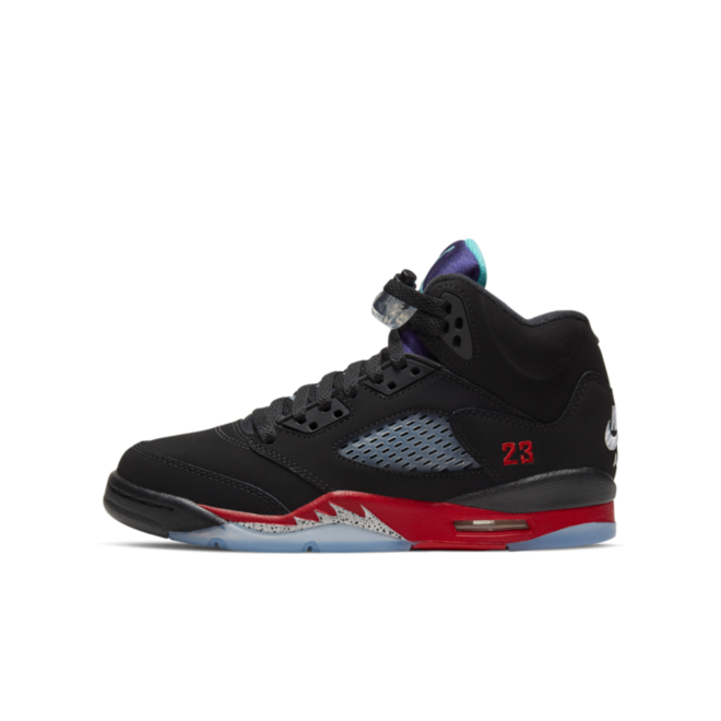 Air Jordan 5 Retro GS 'Top 3' zijaanzicht