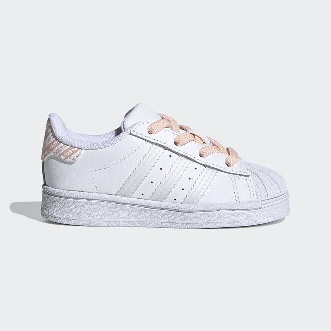Adidas Superstar white/irides/pink TS