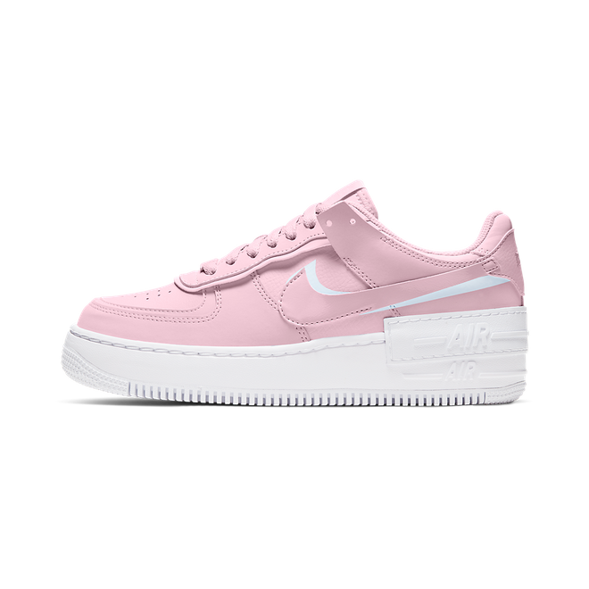 Nike Air Force 1 Shadow 'Pink' zijaanzicht