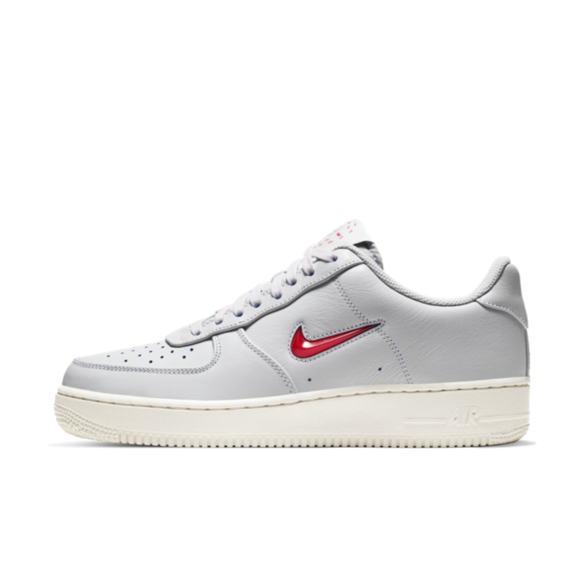 Nike Air Force 1 'Home & Away' Vast Grey zijaanzicht
