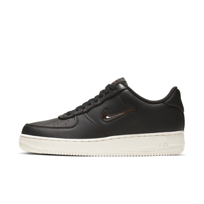Nike Air Force 1 'Home & Away' Black zijaanzicht