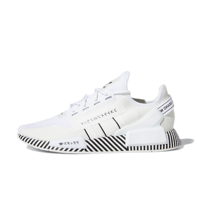 Adidas Nmd R1 V2 Dazzle Camo White Fy2105 Sneakerjagers