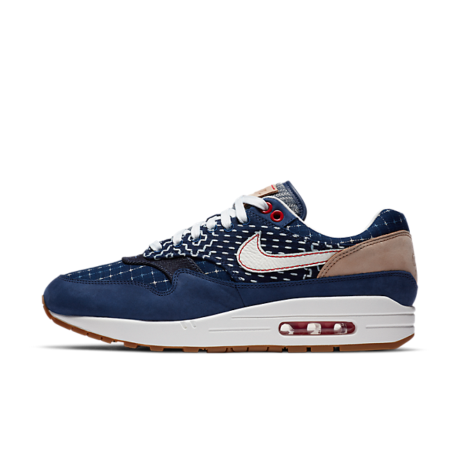 Denham x Nike Air Max 1 'Blue Void' CW7603-400