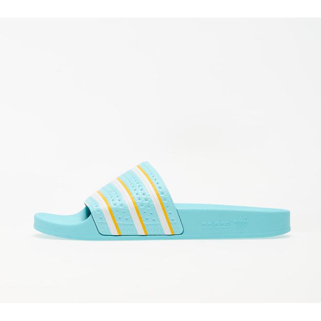 adidas Adilette Blue Zest/ Ftwr White/ Wonder Glow