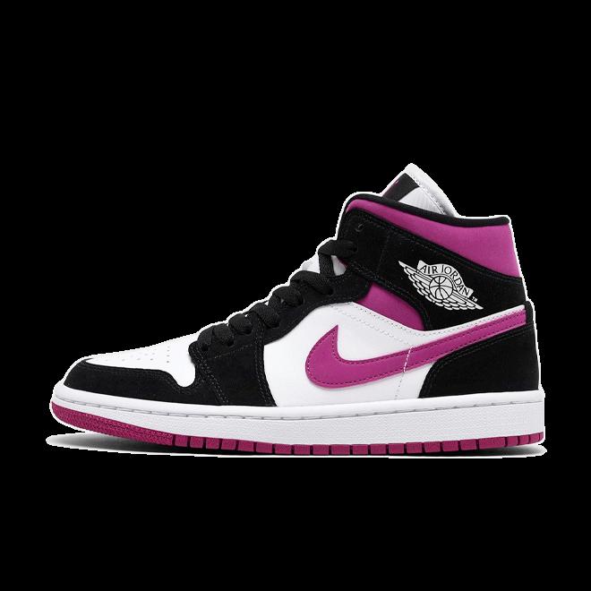 Air Jordan 1 Mid 'Magenta' zijaanzicht