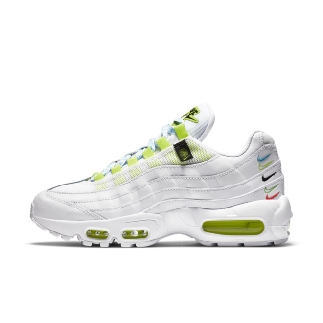 Nike Air Max 95 Worldwide Pack 'White zijaanzicht
